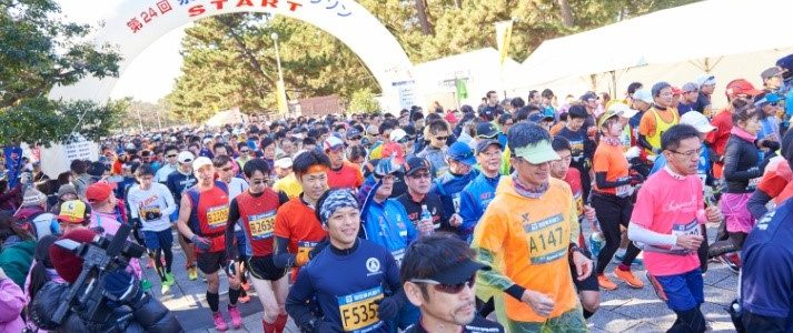 KIX Senshu國際馬拉松宣傳